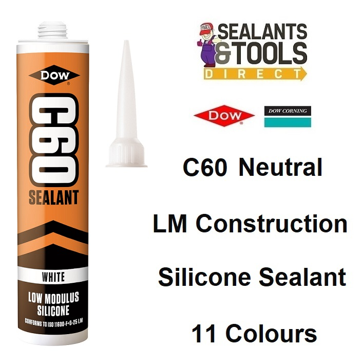 Dow Corning Dowsil C60 LM Low Modulus Neutral Silicone Sealant