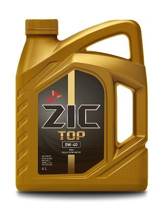 ZIC TOP 0W-40 (SN   A3/B3, A3/B4) (PAO) 4л