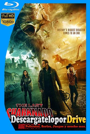 El último Sharknado: Ya era hora (2018) [1080p] [Latino] [1 Link] [GDrive] [MEGA]