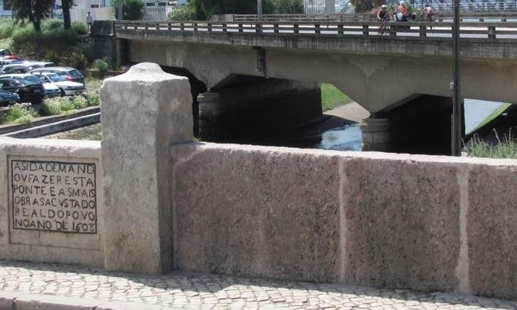 A ponte em Cruz Quebrada