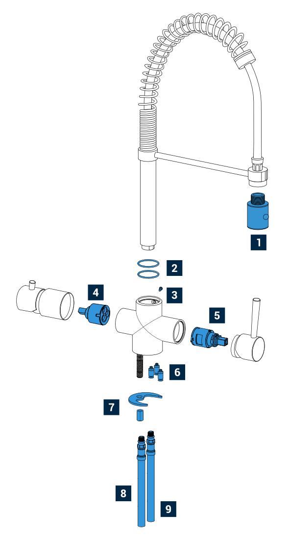 rubinetti 5 vie