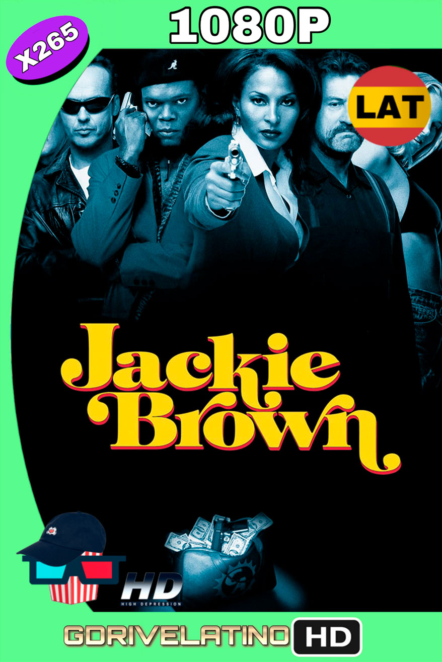Jackie Brown: La estafa (1997) BRRIP 1080p x265 Latino-Ingles MKV