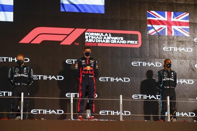F1 GP d'Abu Dhabi 2020 : Victoire Max Verstappen pour la dernière manche de la saison  M255689