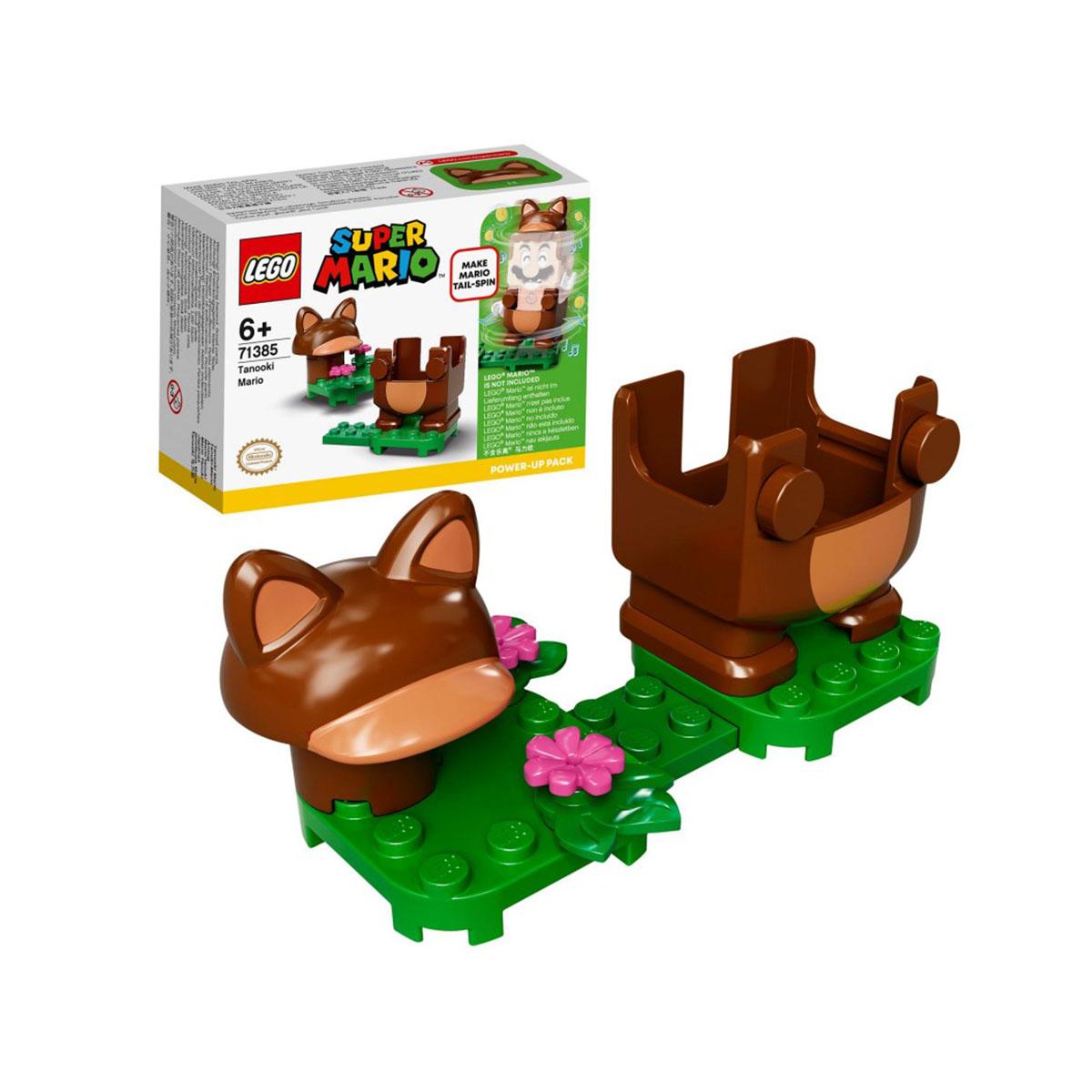 ლეგოს კუბიკები Tanooki Mario Power-Up Pack LEGO 188023