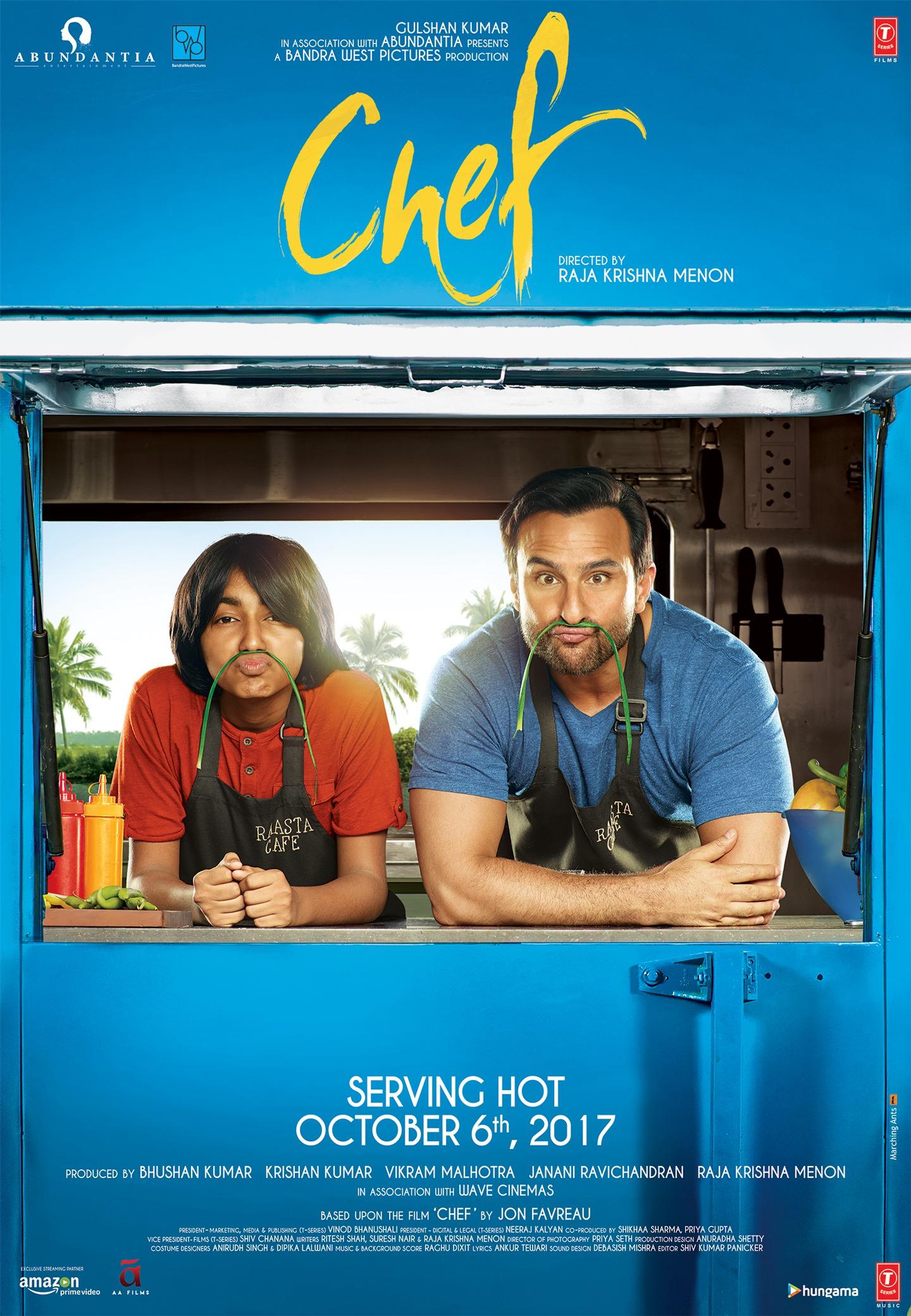 Chef 2017 [Hindi DD5.1] 720p WEBRip MSubs Download