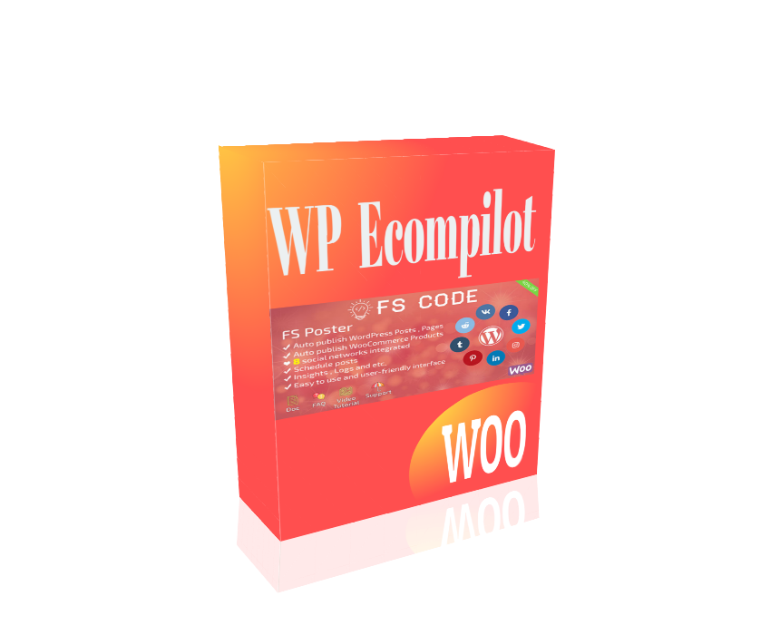 WP Ecompilot - Auto Publish Ecommerce Products & Content to 8 Social Media Website For Maximum Traffic and Sales.