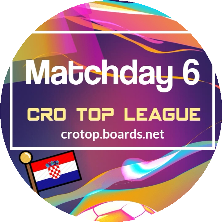 <p><strong>Matchday 6 is on Monday!</strong></p>