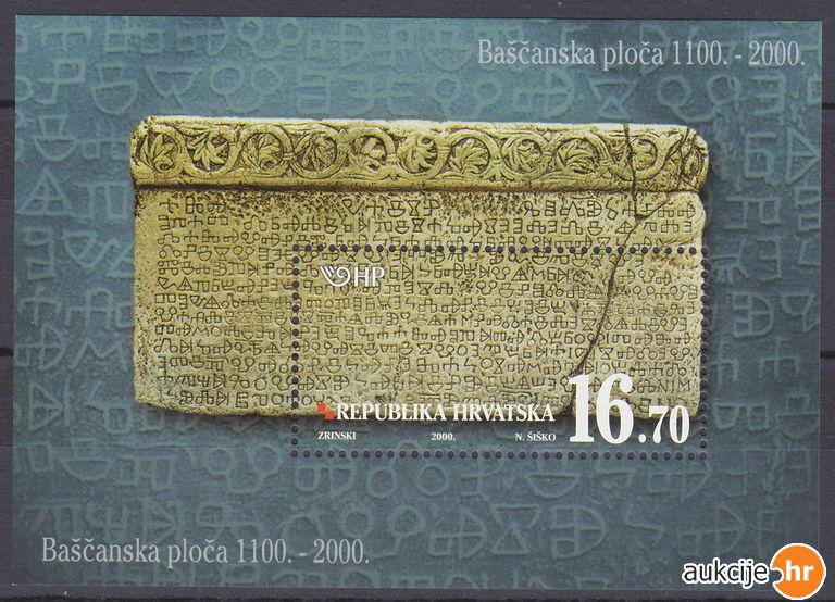 2000. year 900-GODINA-BA-ANSKE-PLO-E-BLOK