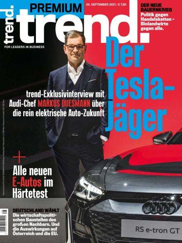Cover: Trend Premium Wirtschaftsmagazin vom 24  September 2021