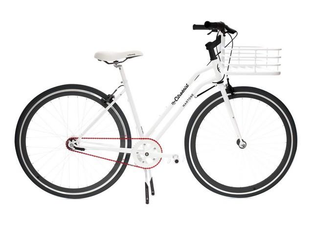 Tous En Selle Avec Les Vélos Rider The Citroënist By Martone ! Martone-femme01-1