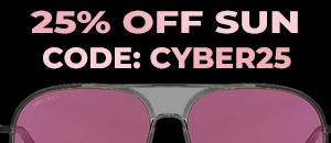 25% off sunglasses over £100