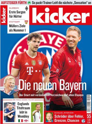 Cover: Kicker Sportmagazin No 55 vom 08  Juli 2021