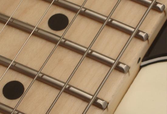 trastes guitarra - partes de la guitarra