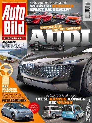 Cover: Auto Bild Magazin No 32 vom 12  August 2021