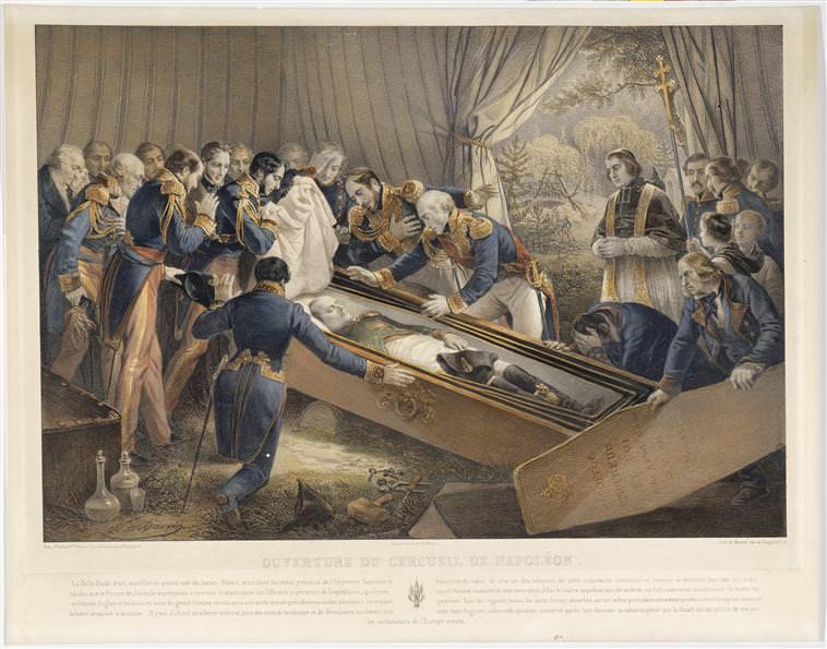Napoleon-s-casket-opened-in-1840