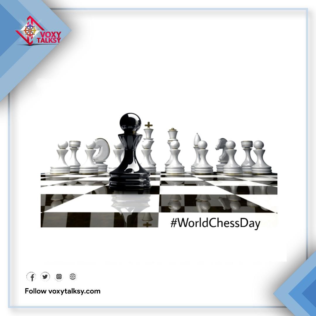 World Chess Day 2020 | VoxyTalksy