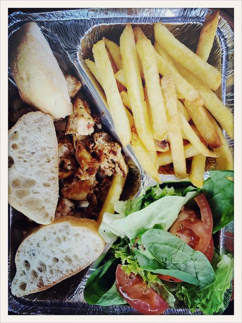 menu assiette vect