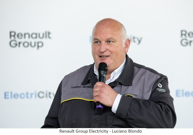Renault Group signe un accord social et crée Renault ElectriCity: le pôle industriel électrique du nord de la France Renault-Group-Electricity-Luciano-Biondo
