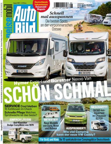 Cover: Auto Bild Reisemobil Magazin No 08 2021