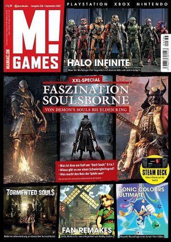 Cover: M! Games Magazin Playstation Xbox Nintendo No 09 September 2021