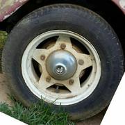 De cuál medida eran estos neumáticos ? solicito sus opiniones Caucho-cerca