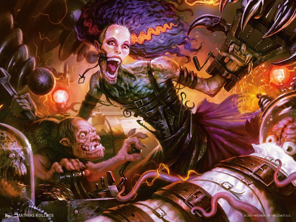 Grusilda, Monster Masher - a serious reanimator