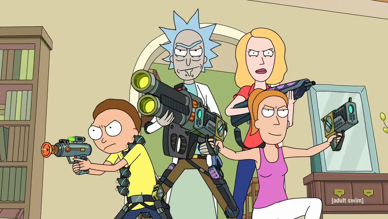 Rick y Morty Serie [Todas las Temporadas] Español