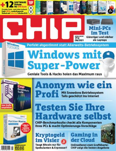 Cover: Chip Magazin No 09 2021