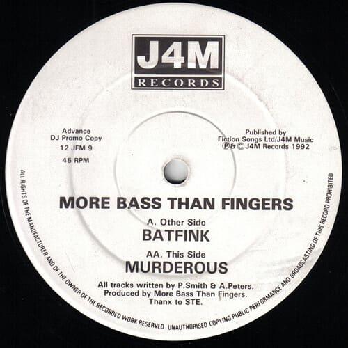 Download More Bass Than Fingers - Batfink / Murderous mp3