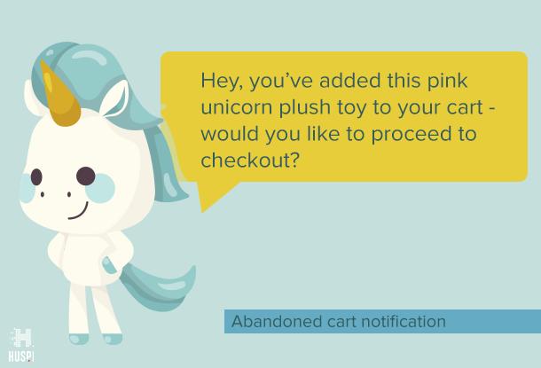 abandoned card push notification