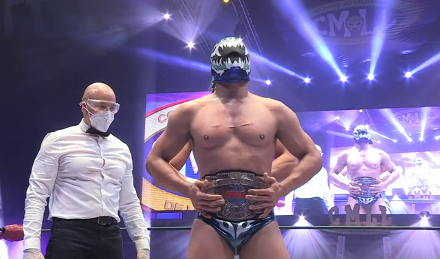 Titan vence a Soberano Jr