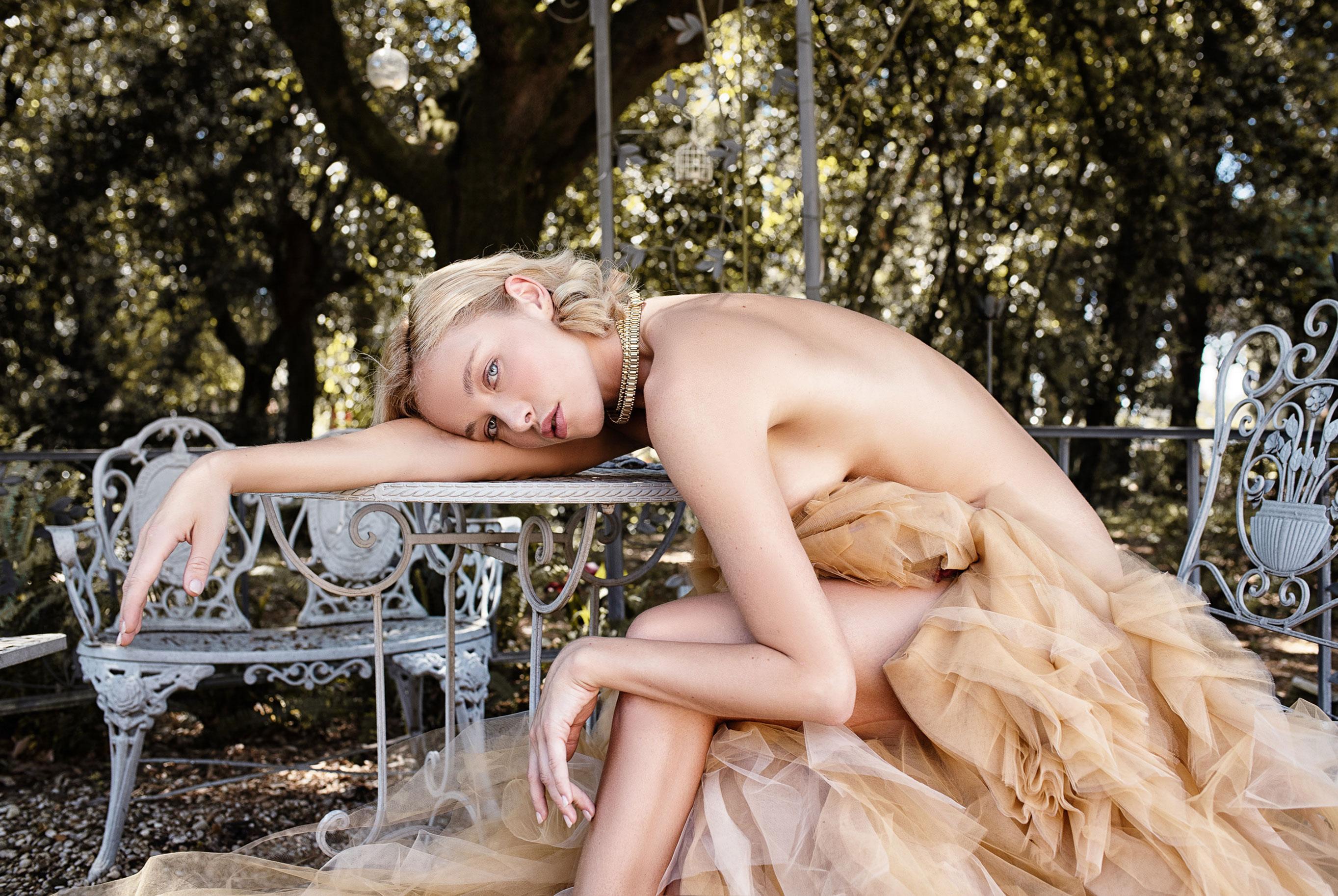 Виктория Яровая отдыхает на природе / фото 04