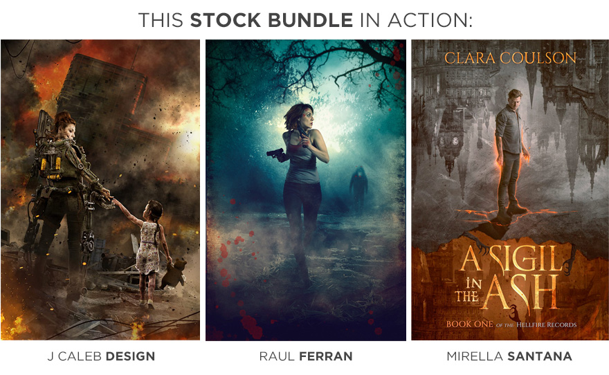 horror and post apoc 1 customer cover stock photo showcase