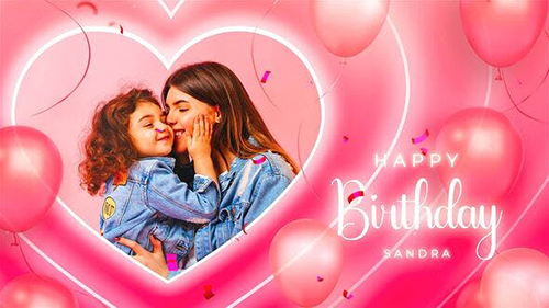 Happy Birtday Sandra 33907133 - Project for After Effects (Videohive)