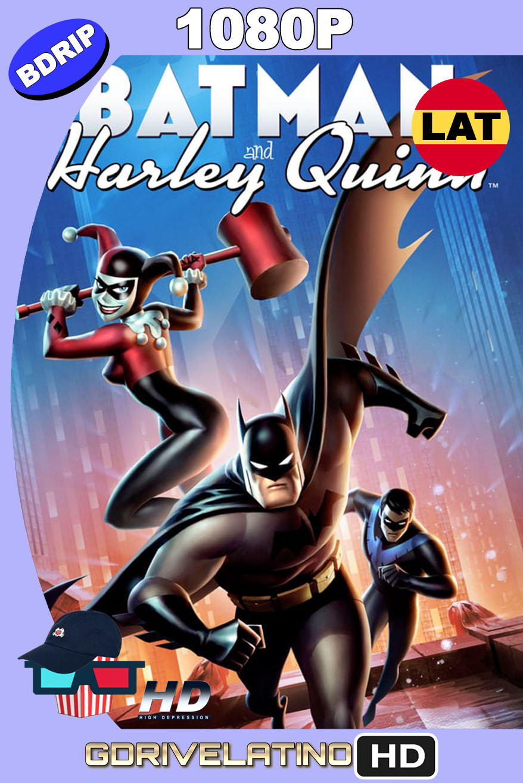 Batman y Harley Quinn (2017) BDRip 1080p Latino-Inglés MKV