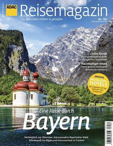 Cover: Adac-Reisemagazin No 185 November-Dezember 2021