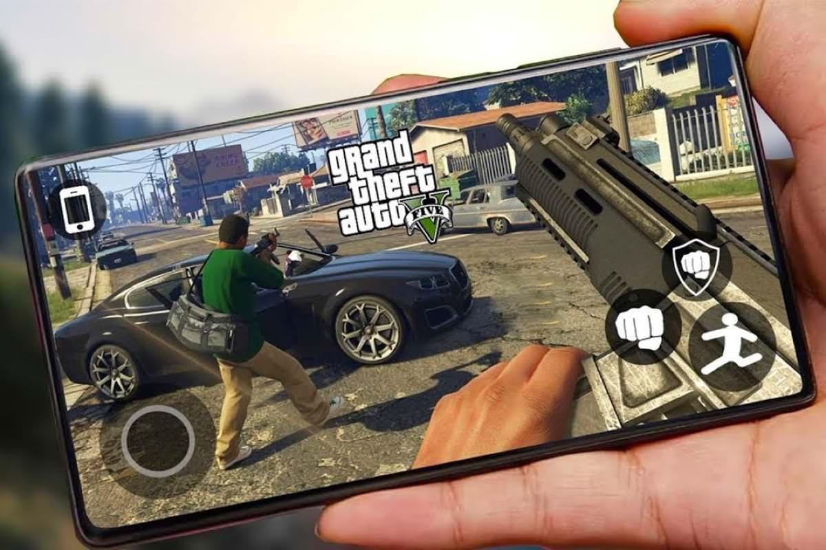 Grand Theft Auto V для Android!