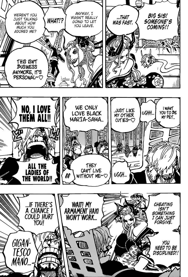 One Piece Chapter 1005 - Img 009