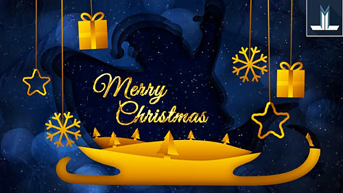 Merry Christmas Greeting Card 25216913 - Project for After Effects (Videohive)