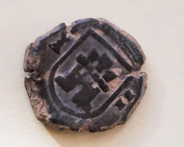 2 maravedís de Carlos ii de Cuenca, 1680. Car-1-1-de-1