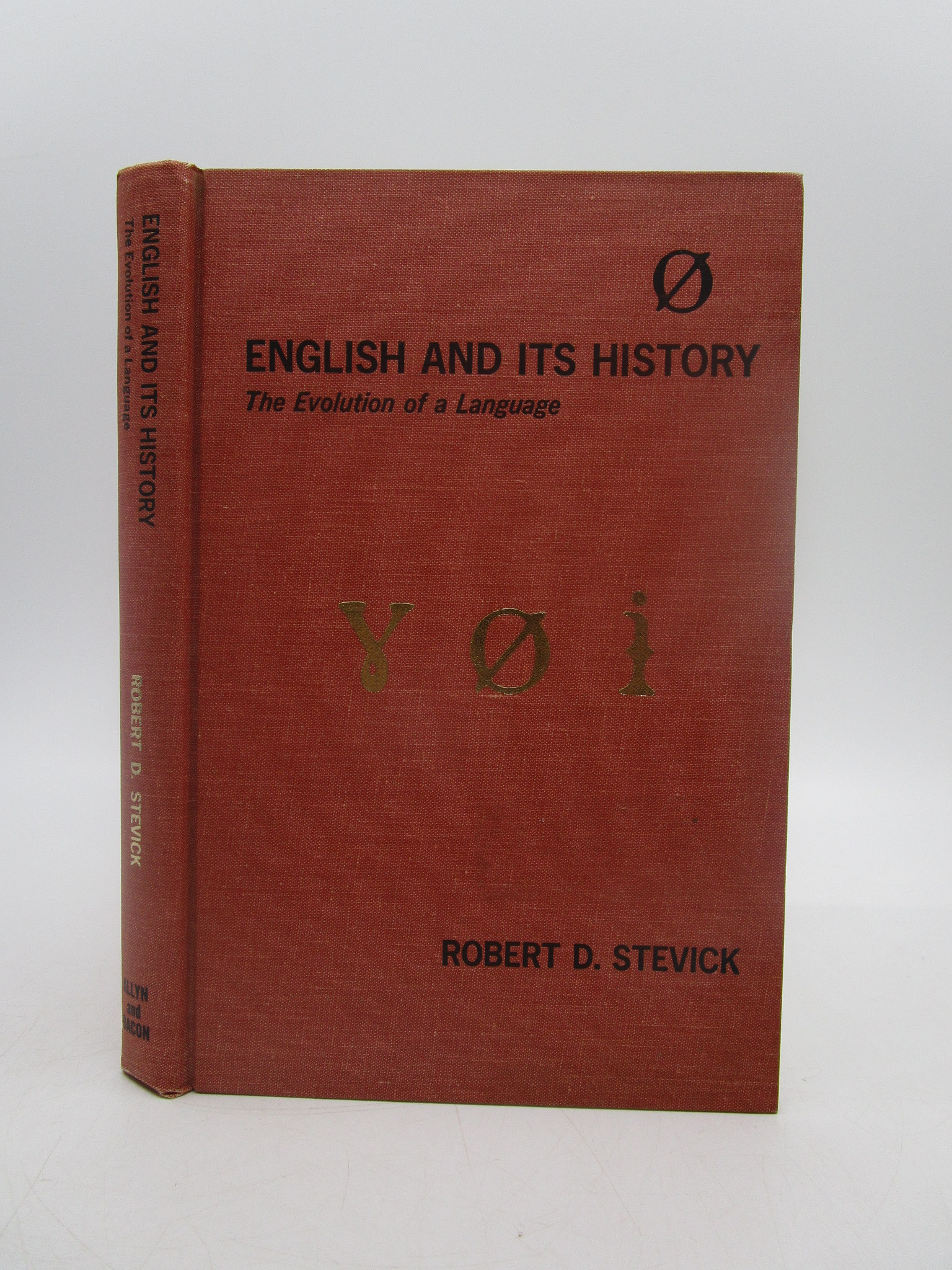 Image for English and its History: The Evolution of a Language