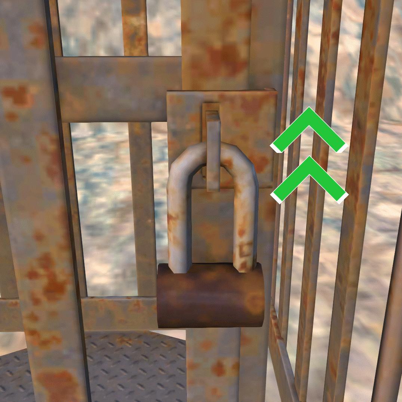 Improved Prisoner/Slave Locks / Усиленные замки на клетках