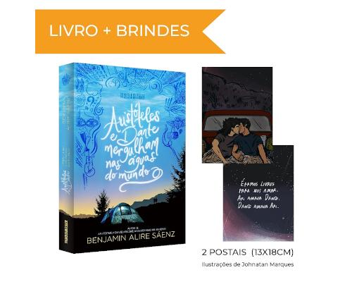 """""""Aristóteles e Dante mergulham nas águas do mundo"""" da @EditoraSeguinte já está em pré-venda na Amazon"""