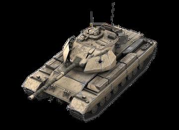 Премиум танк Caernarvon Action X World of Tanks Blitz