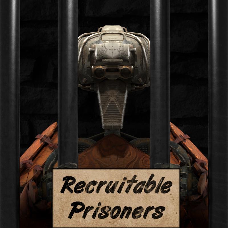 Recruitable Prisoners (RU) / Вербовка заключенных (RU)