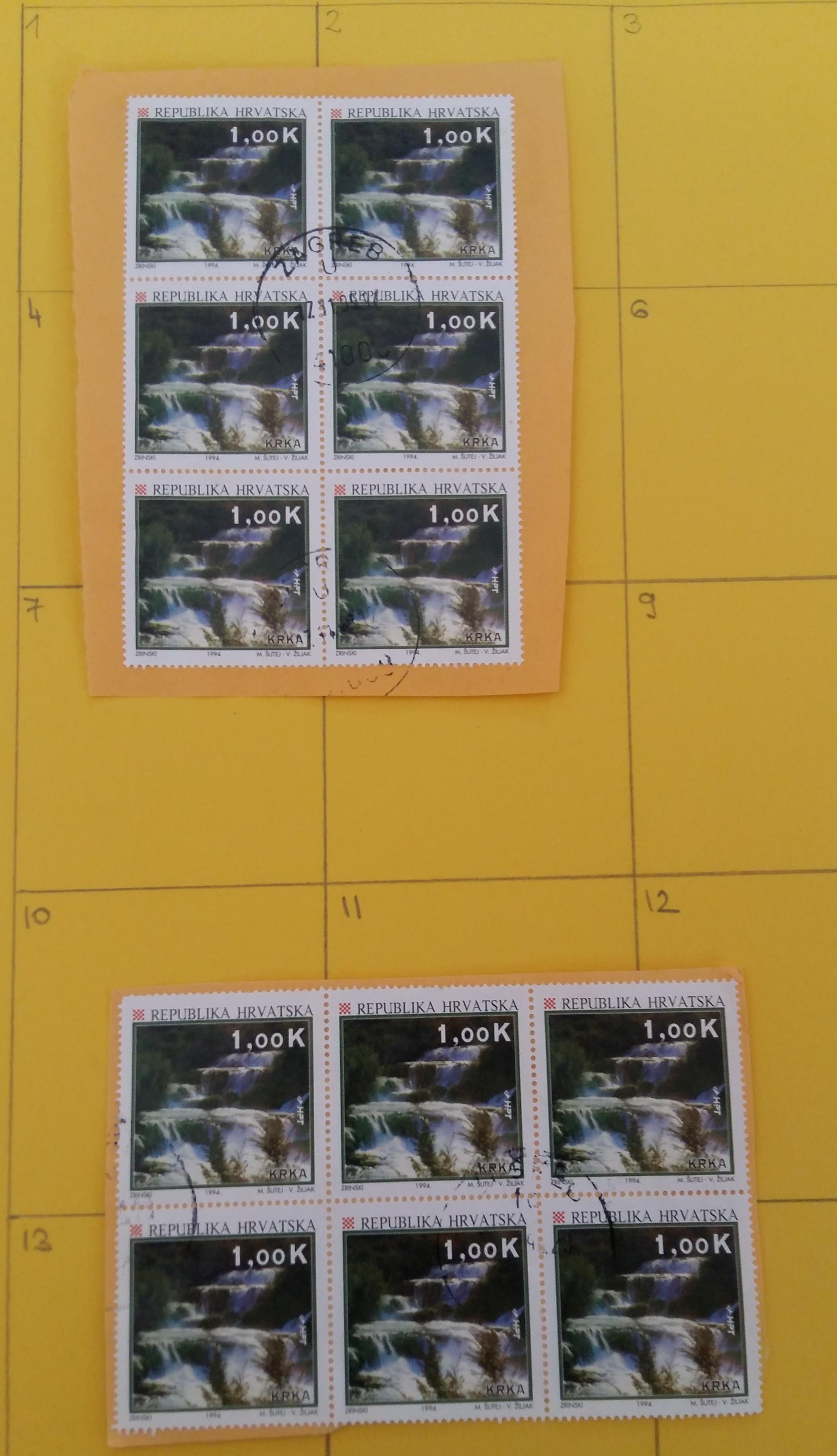 Croatia double stamps 20190928-141825