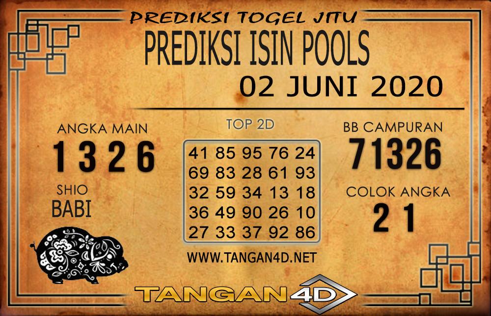 PREDIKSI TOGEL ISIN TANGAN4D 02 JUNI 2020