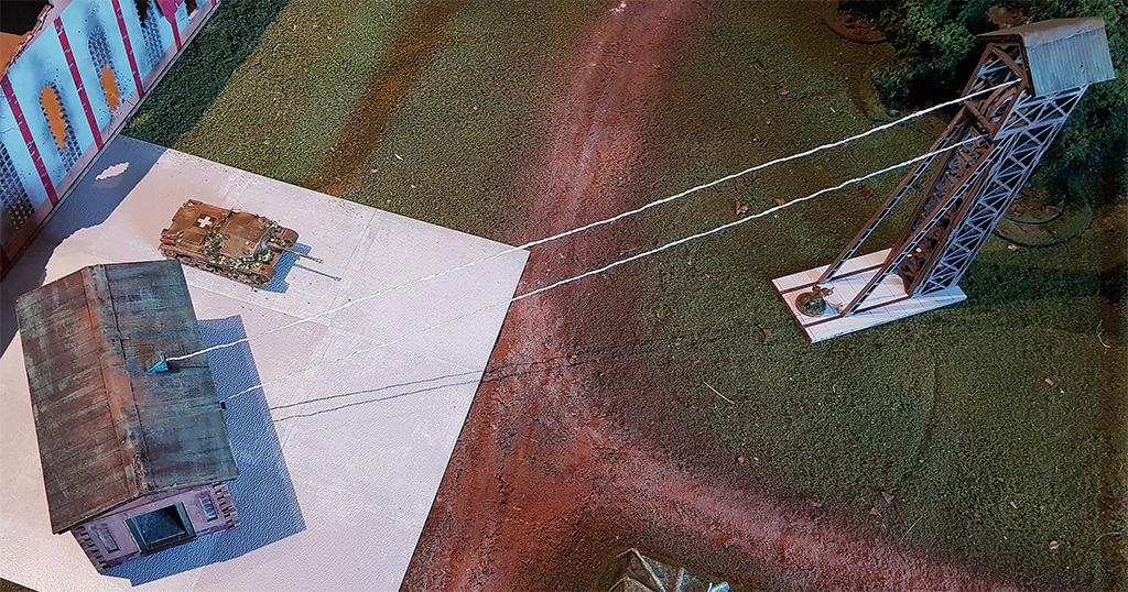 Tiefbau Mine mit Schachtzugang  Arminace-mine-2