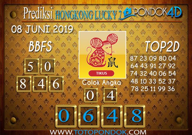 Prediksi Togel HONGKONG LUCKY 7 PONDOK4D 08 JUNI 2019