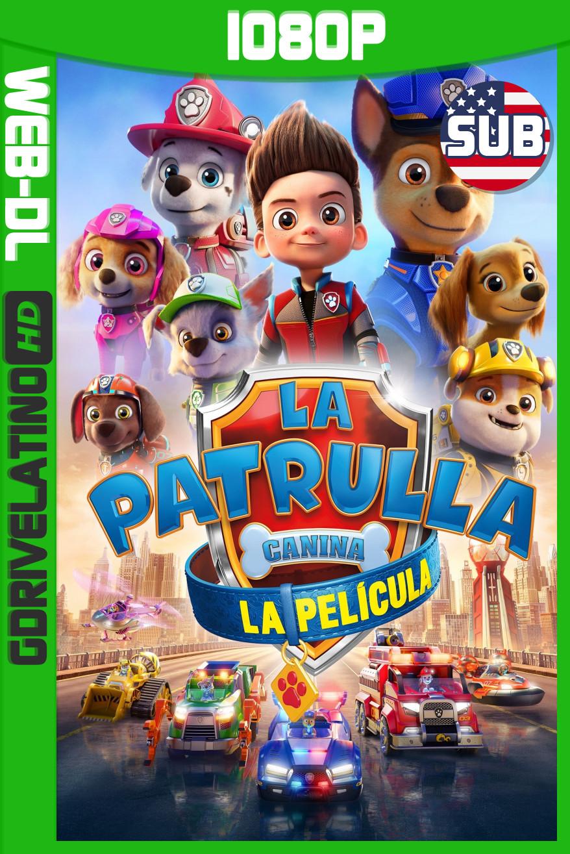 PAW Patrol: The Movie (2021) WEB-DL 1080p Subtitulado